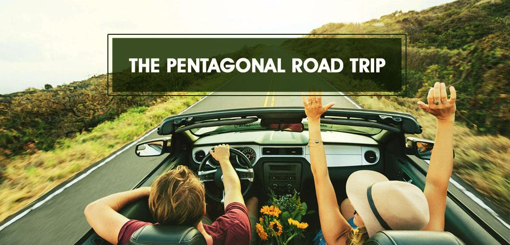 The Pentagonal Road Trip - Italy